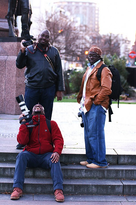 photoblog image Green Park I: Three Men and a ...